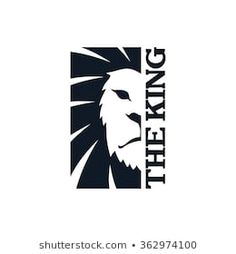 Imágenes, fotos de stock y vectores sobre Lion Logo | Shutterstock Lion Logo, Logan, Lion Art, Logo Sticker, Stencils, Graffiti, Logo Design, Wallpaper, Brave