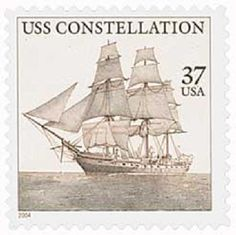 September 7, 1797 | First USS Constellation Launched