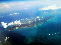 Totally love seeing that! Aerial view of Jamaica