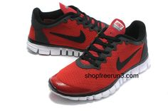 3740d55fa749 Mens Nike Free Run 3.0V2 Red Black cheap  nikes  man  running