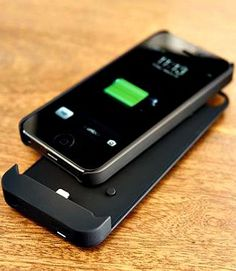 The Boostcase doubles the battery life of your iPhone 5 without adding unwanted bulk to your pocket or purse- a great gift for Easter!