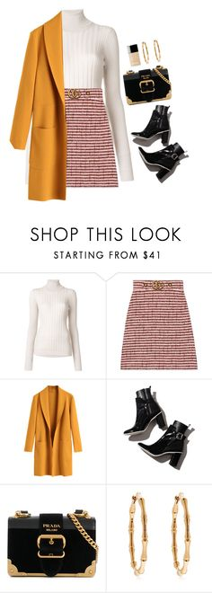 """""""Read Description!!"""" by shannonmichellex ❤ liked on Polyvore featuring Maison Margiela, Gucci, Prada and Chanel"""