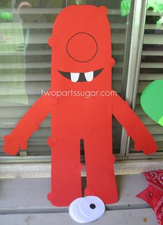 Pin the eye on Muno game by two parts sugar, via Flickr