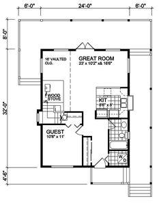 House Plan RS-1333 Main Floor Plan