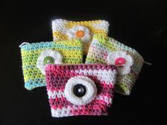 Cute Coffee Cozies By Sarah - Free Crochet Pattern - (capedcrocheter. Coffee Cozy Pattern, Crochet Coffee Cozy, Crochet Cozy, Free Crochet, Dishcloth Crochet, Crochet Gifts, Coffee Tumblr, Cozy Cover, Coffee Sleeve