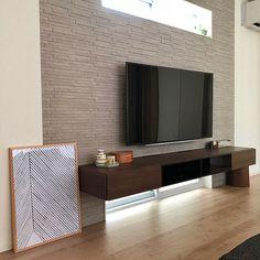 Lounge/エコカラット/リサラーソン/HAY/壁掛けテレビ/ケーラー...などのインテリア実例 - 2018-08-05 11:51:20 | RoomClip (ルームクリップ) Maple Floors, Tv Unit Design, Living Room Tv, Living Room Designs, Bedroom Decor, New Homes, Interior Design, House, Home Decor