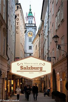 3 Meals: Where to eat in Salzburg, Austria http://www.casualtravelist.com Would have been nice to know when I was there