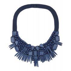 Hoss Intropia Ladies' Collar Necklace – Ink - Ladies' Designer Accessories - WOMEN | Country Attire