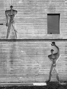 Unité d'habitation, Firminy  Reportage Le Corbusier by Cemal Emden  LE CORBUSIER