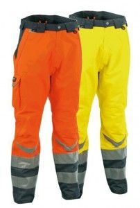 #Pantalone da #lavoro #Cofra Modello High visibility SAFE. #antinfortunistica