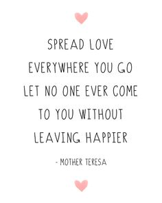 Inspirational Quote Mother Teresa