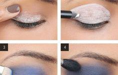 FL | How-To:A Bold Blue Smoky Eye