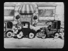 This is a short film from early B Mickey Mouse Cartoon released on march 7, 1931. Mickey is a Taxi driver and drive on a bad street. Mickey pick up Minnie Mouse.
