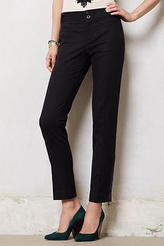 The ULTIMATE black pants that make your legs look a mile long! LOVE Ankle Zip Charlie Trousers