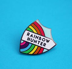 Rainbow Hunter Enamel Pin