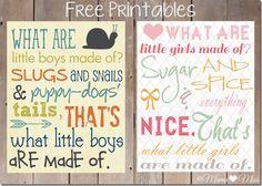 "Free Printable Subway Art ""Little Boys & Little Girls"" {mama♥miss} ©2012"