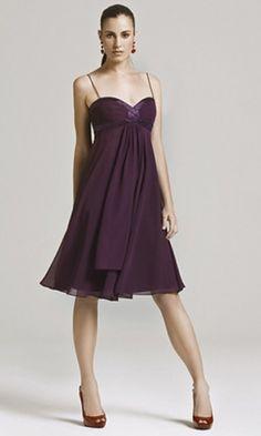 Graceful Chiffon A-line Sweetheart Empire Knee-length Bridesmaid Dresses FSAU1409P917005 - formalsydney.com