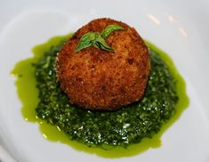 Arancini Fried in UP Extra Virgin Olive Oil