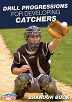 Drill Progressions for Developing Catchers - Baseball -- Championship Productions, Inc. Baseball Hitting Drills, Softball Drills, Softball Coach, Travel Baseball, Twins Baseball, Baseball Shirts, Baseball Field, Baseball Savings, Baseball Tips