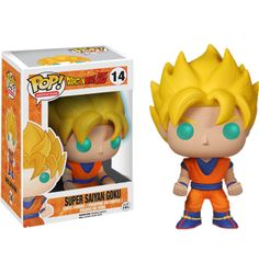 Dragon Ball Z - Super Saiyan Goku Glow Pop! Vinyl Figure
