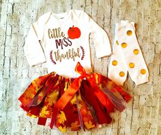 baby girl clothes Thanksgiving outfit glitter girl miss thankful fall tutu baby girl pumpkin fall first thanksgiving outfit girl leg warmers