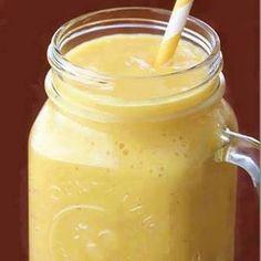 Acid Reflux Smoothie 1.5c diced pineapple 1 banana .5c Greek yogurt .5c ice .5c pineapple juice or water