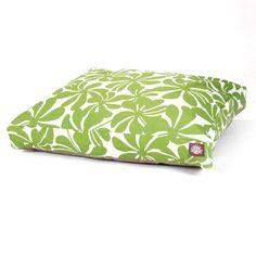 Majestic Pet Plantation Rectangle Pet Bed Sage - 78899550015