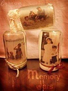 C is for CRAFT!: Memory Jars