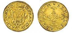 Italian States/Ferrara AV Scudo d'oro ND Duke Alfonso d'Este 1559-97
