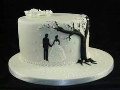 Wedding cake tree