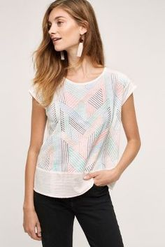 Embroidered Sienna Top