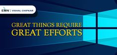 #Focus on what you do and put in the efforts, #EMN #VishalChipkar