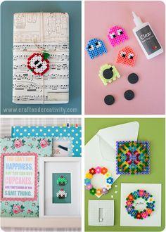 Idéer för pärlplattor -Hama bead ideas