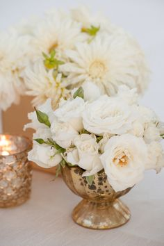 Ivory prettiness: http://www.stylemepretty.com/california-weddings/st-helena/2015/01/20/elegant-wine-country-wedding/ | Photography: Rebecca Gosselin - http://www.rebeccagosselin.com/