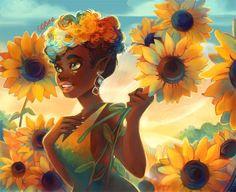 """Sunflowers"" Artist Credit: Geneva Benton photography"