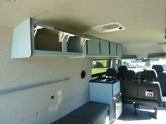 Cabinets | Sprinter Van Camper Conversion - Southern California