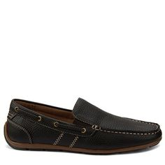 c9da291d2e04 GBX Men s Ludlam Moc Toe Slip On Shoes (Dark Brown) Loafer Shoes
