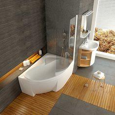 Płytka disco + wanna ciekawa może się zmieści u nas ? Bathroom Counter Decor, Modern Bathroom Tile, Bathroom Interior, Small Bathroom, Design Bathroom, Bathrooms, Corner Bathtub Shower, Home Spa, Bathroom Inspiration