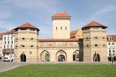 Isartor - Münchner Stadtbefestigung – Wikipedia
