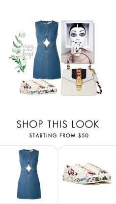 """#Enjoy"" by leliuscris on Polyvore featuring moda, Courrèges, Nasty Gal y Gucci"