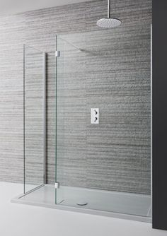 DESIGN Double Sided Walk In Enclosure in Showering | Simpsons - Shower Enclosure Products