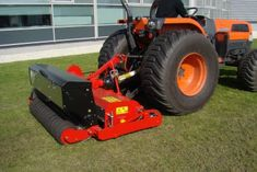 The RG200 is a regenerative overseeder machine. Overseeding is a maintenance process for seeding on top of worn or damaged turf.