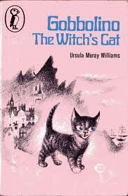 Gobbolino the Witch's Cat. This is my childhood. The cat who made little sparks as he was brushed. I feel sorry for my cat, as she was brushed to within an inch of her life once I read this. 1970s Childhood, My Childhood Memories, Childhood Toys, Book Cover Art, Book Art, Book Covers, Witch Cat, Vintage Children's Books, Antique Books