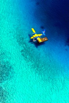 Kihaad Maldives Kihaad International Airport (by Giorgio Ghezzi) Amphibious Aircraft, Float Plane, Floating Dock, Flying Boat, Adventure, Cool Stuff, Travel, Airplanes, Sea Planes