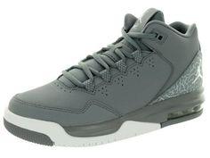 657af8abb850 Nike Jordan Kids Jordan Flight Origin 2 BG Cool Grey White Wolf Grey  Basketball Shoe 5 Kids US