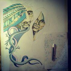 A familiar face... #arte #art #artwork #artworks #artist #artistas #draw #drawing #drawart #dibujos #dibujantes #dibujante #illustration #illustrator #ilustrador #picture #paint #painter #paints #pinturas #painting #pintores #surrealism #surrealismo #oniric #onirico #pendraw #pendrawing