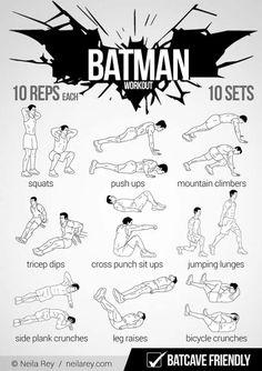 Batswag workoutttttt