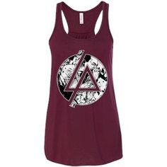 Chester Linkin Park Logo Ladies Tee