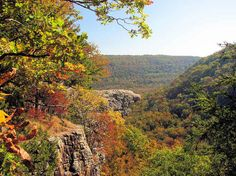 29 Surreal Places In America You Need To Visit Before You Die -- Whitaker Point, Arkansas