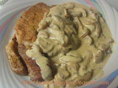 Τα φαγητά της γιαγιάς - Χοιρινές μπριζόλες με μανιτάρια αλα κρεμ